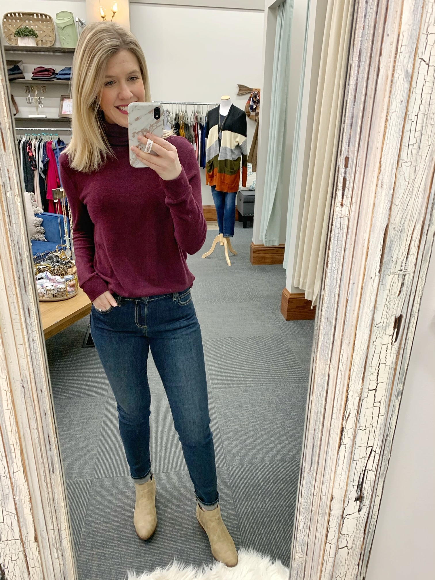Stella Sweater - Wine
