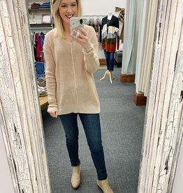 Luna Waffle Sweater