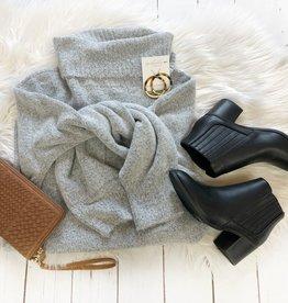 Lillian Gray Turtleneck Sweater