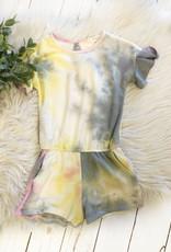 Girls Tie Dye Romper
