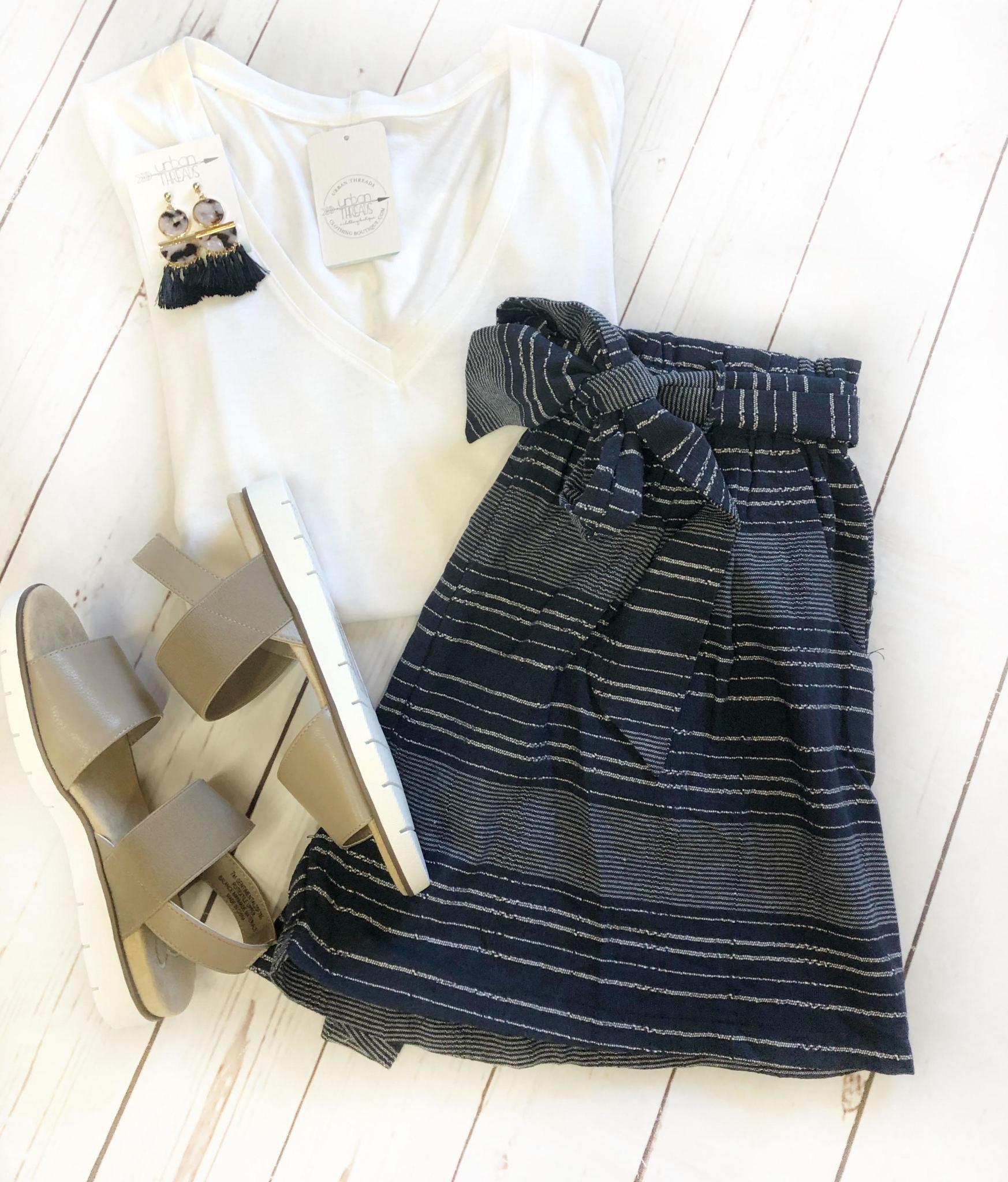 Ava Tie Shorts