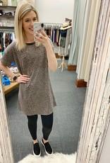 Avery Leopard T-Shirt Dress