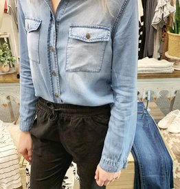 Sadie Denim Button Up
