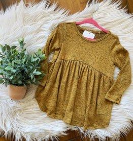 Mustard Babydoll Top