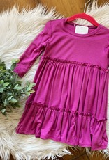 Orchid Ruffled Dress 2T