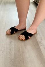 Ivy Black Sandal