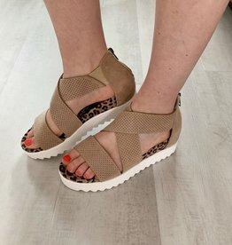 Leopard Platform Sandals