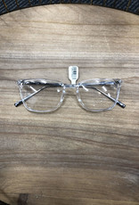 Rectangle Clear Blue Light Glasses
