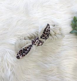 Cheetah Spa Headband