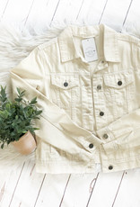 Wishlist Ivory Denim Jacket