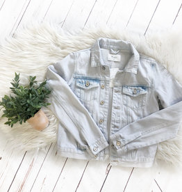 Kancan Light Wash Denim Jacket