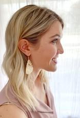 Gold Leopard Earrings