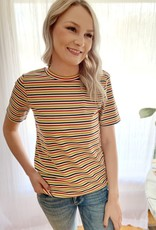 Multi Striped Tee