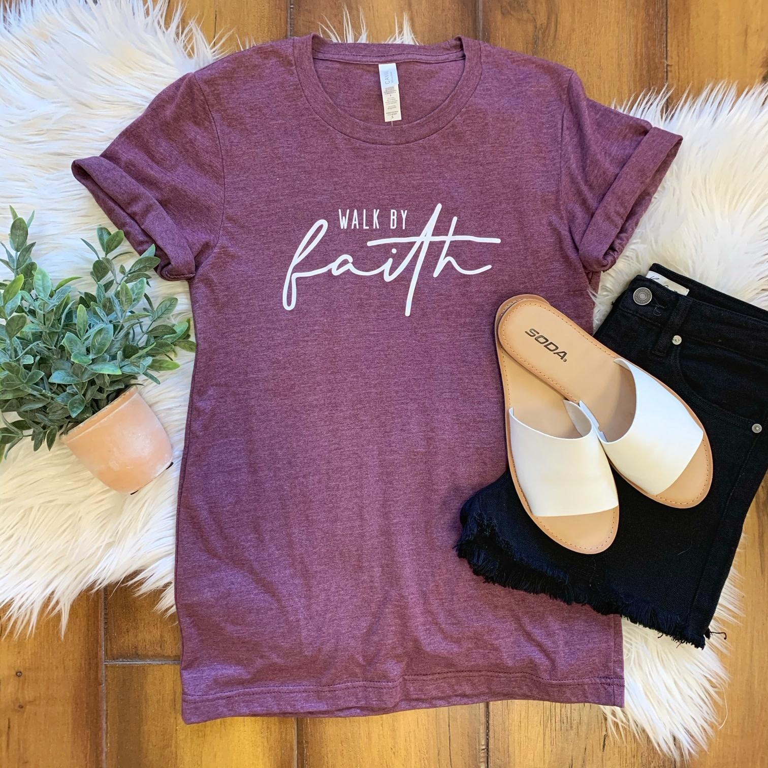 Walk By Faith Tee