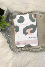 Green Leopard Notes Journal
