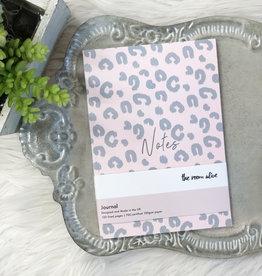 Pink Leopard Notes Journal