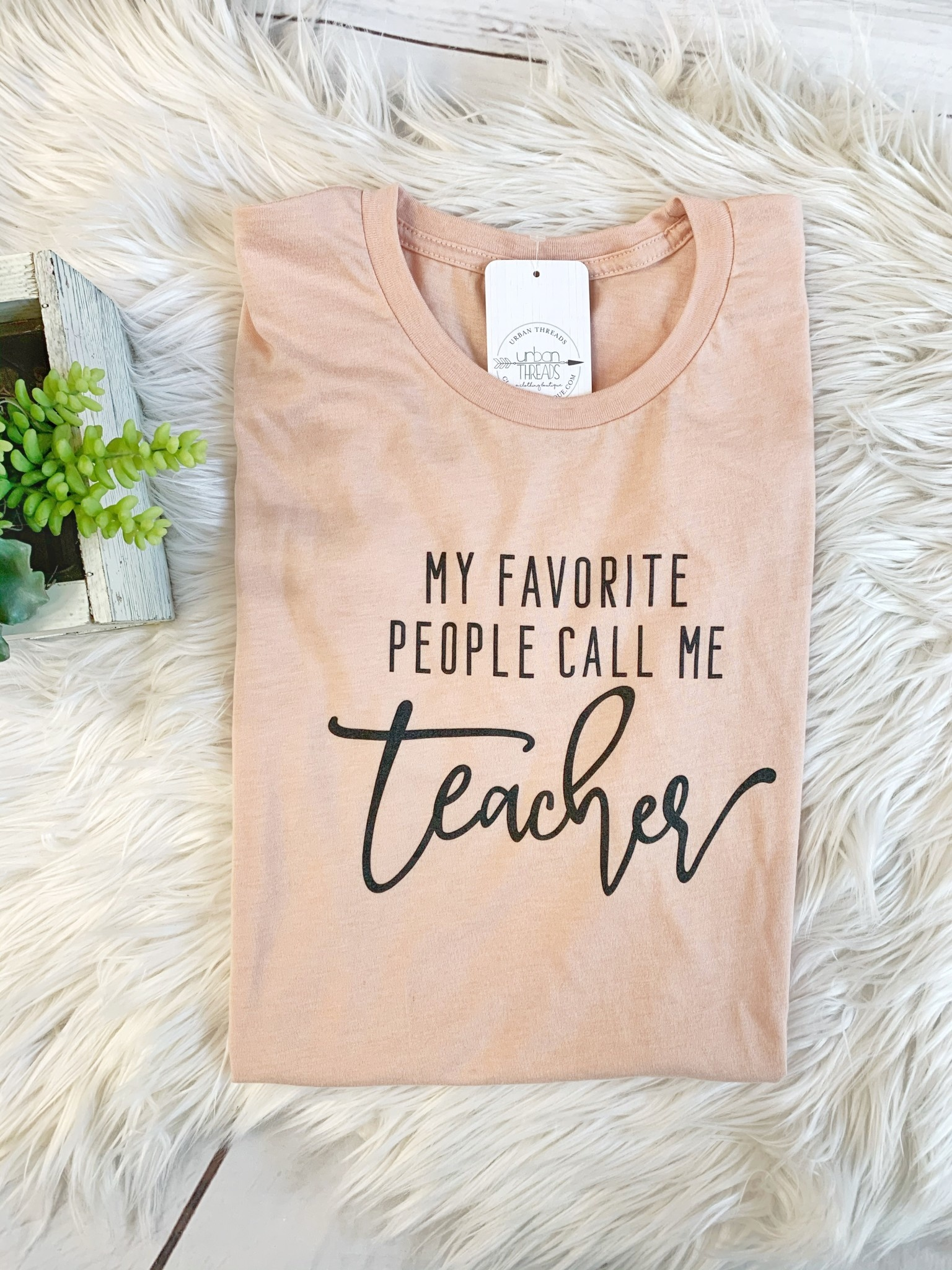 Call Me Teacher Tee
