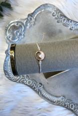Vanilla Stone Wave Bracelet