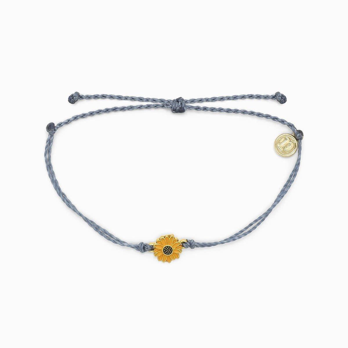 Blue Sunflower Bracelet