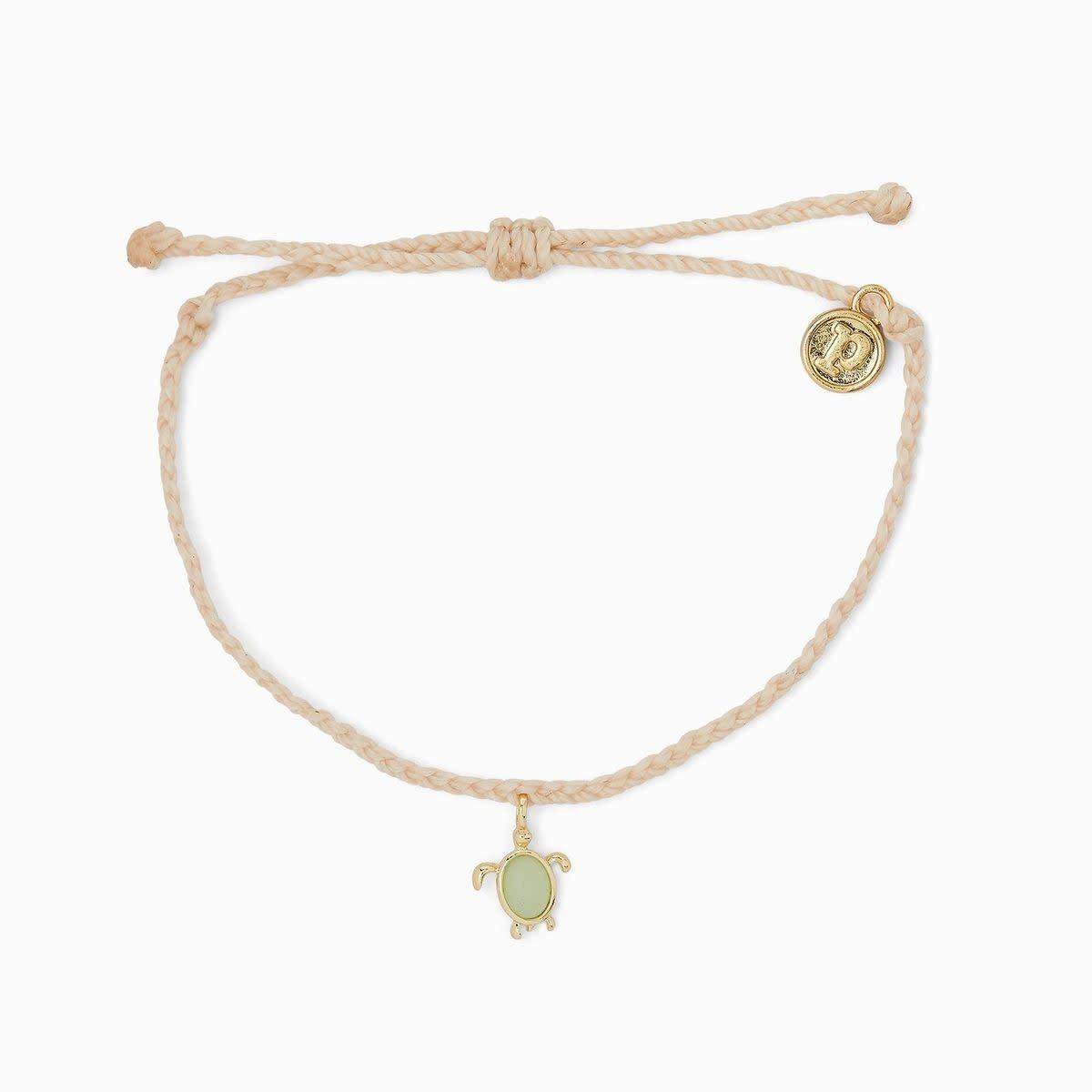 Vanilla Turtle Charm Bracelet