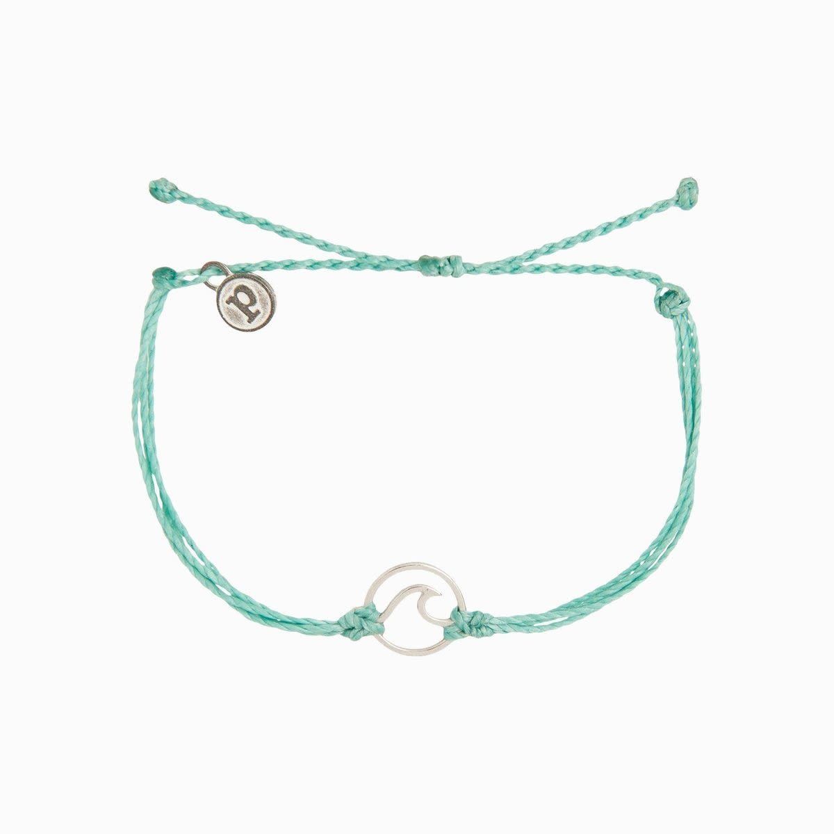 Ice Blue Wave Bracelet