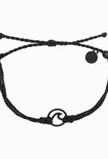 Black Wave Black Bracelet