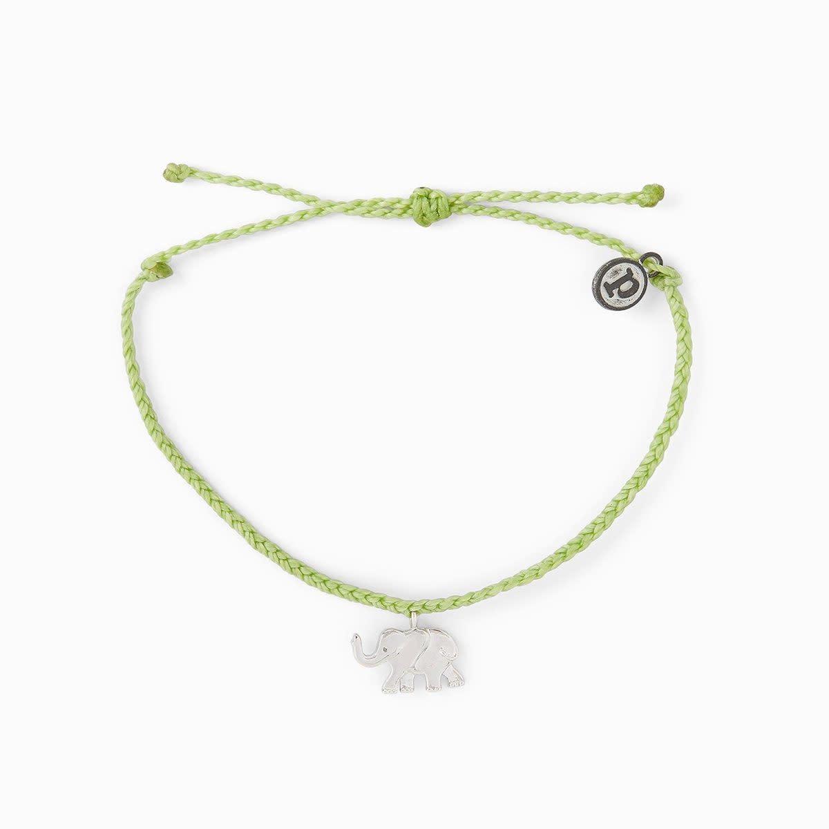 PuraVida Elephant Charm Bracelet
