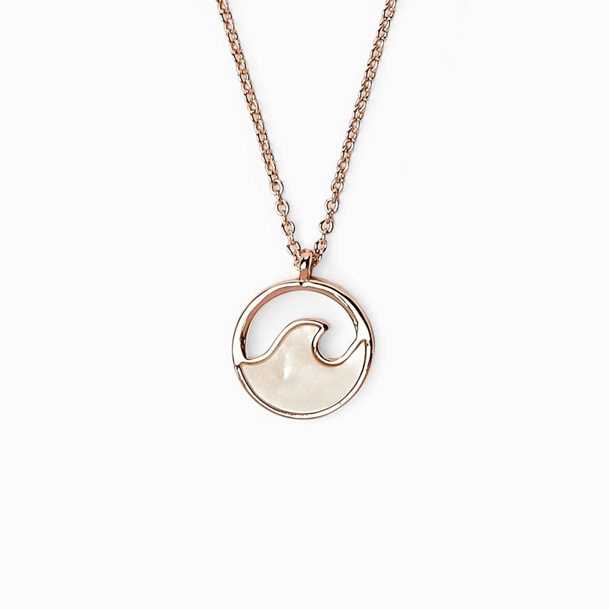Puravida Stone Wave Necklace