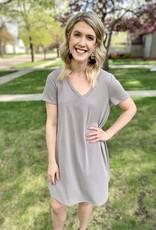 Bailey Taupe Dress