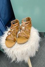 """Madeline Brown Sugar """"Woke"""" Sandals"""