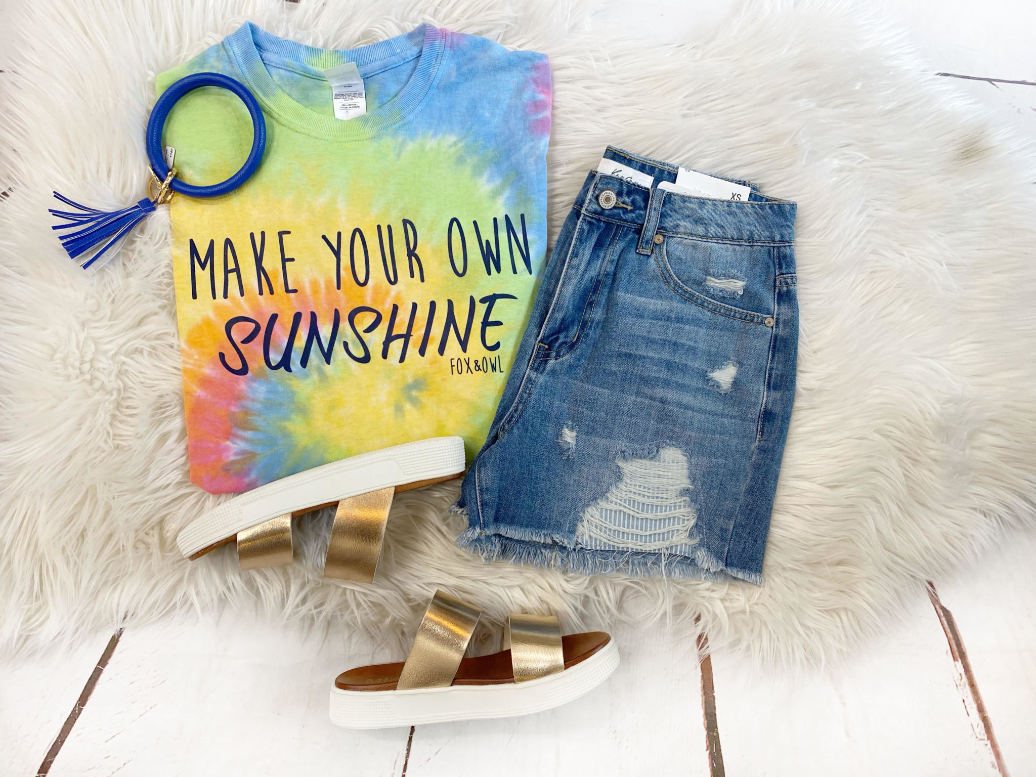 Make Your Own Sunshine Tee