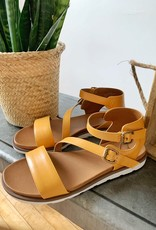 """Madeline Mustard """"As If"""" Sandals"""