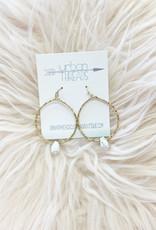Marble Drop Earring