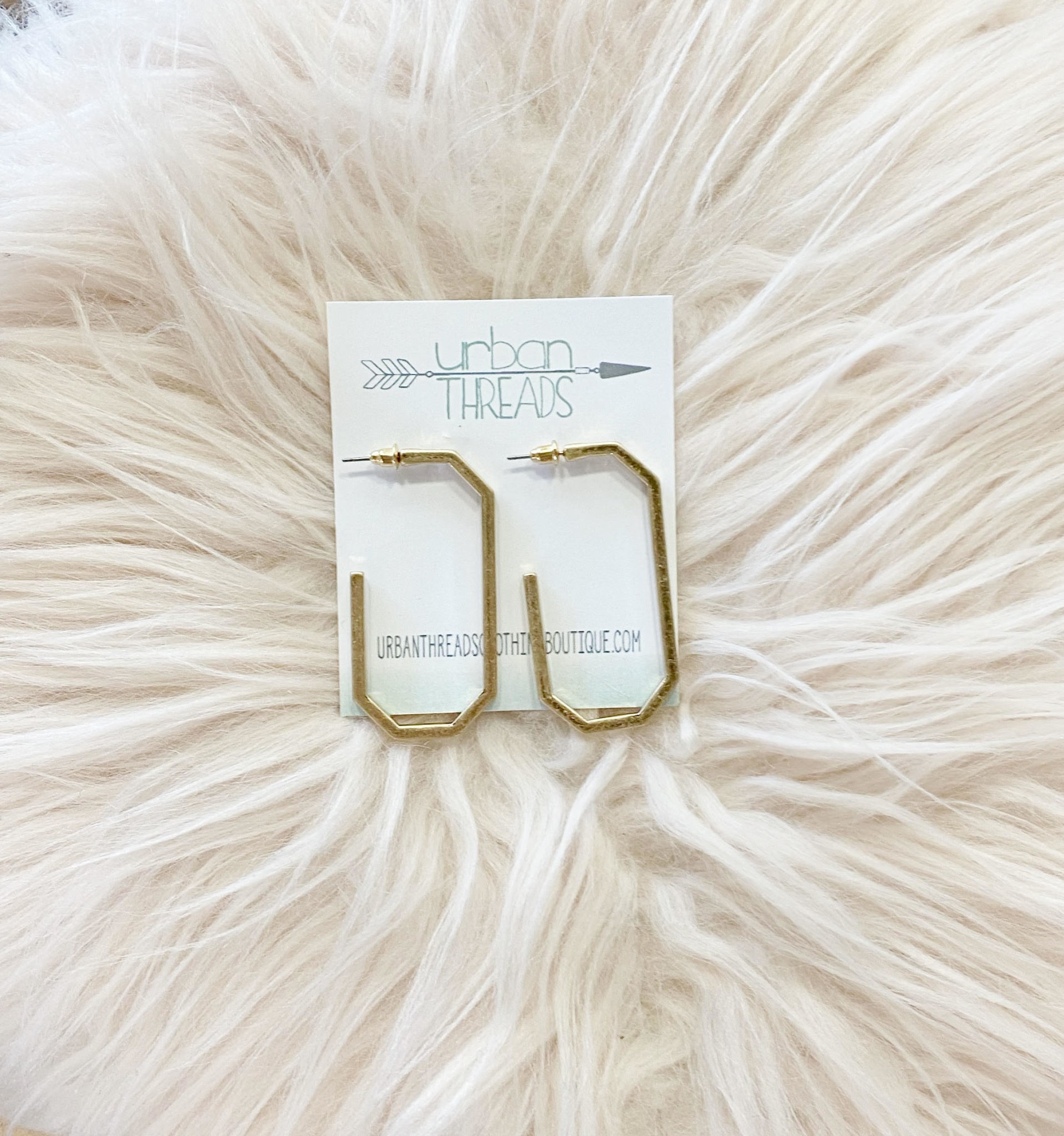 Olivia Hoop Earrings