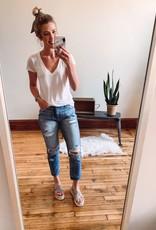 Taylor High Rise Boyfriend Jeans