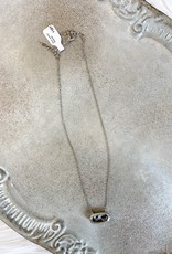 Silver Leopard Necklace
