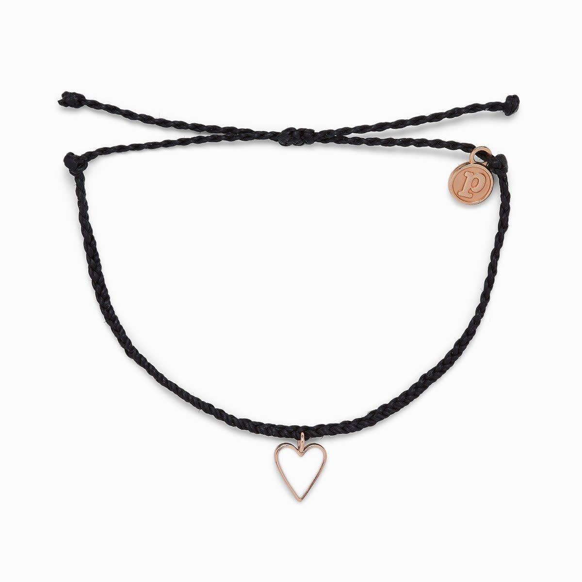 PuraVida Puravida Petite Heart Bracelet