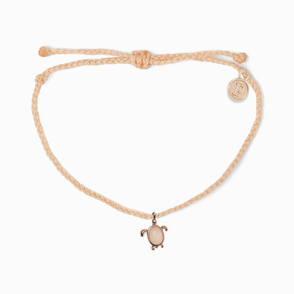 Rose Gold Sea Turtles Charm