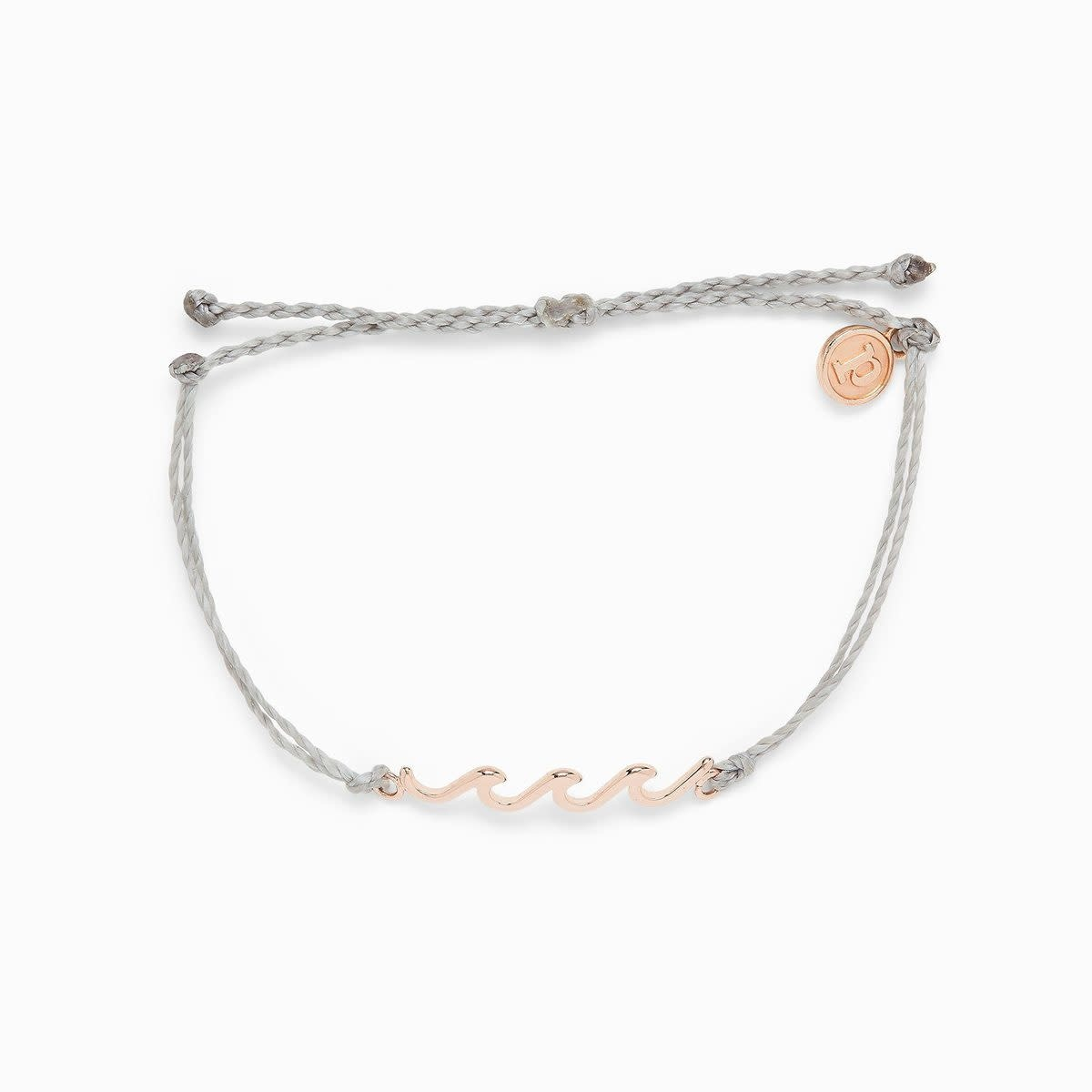PuraVida Puravida Grey Wave Bracelet