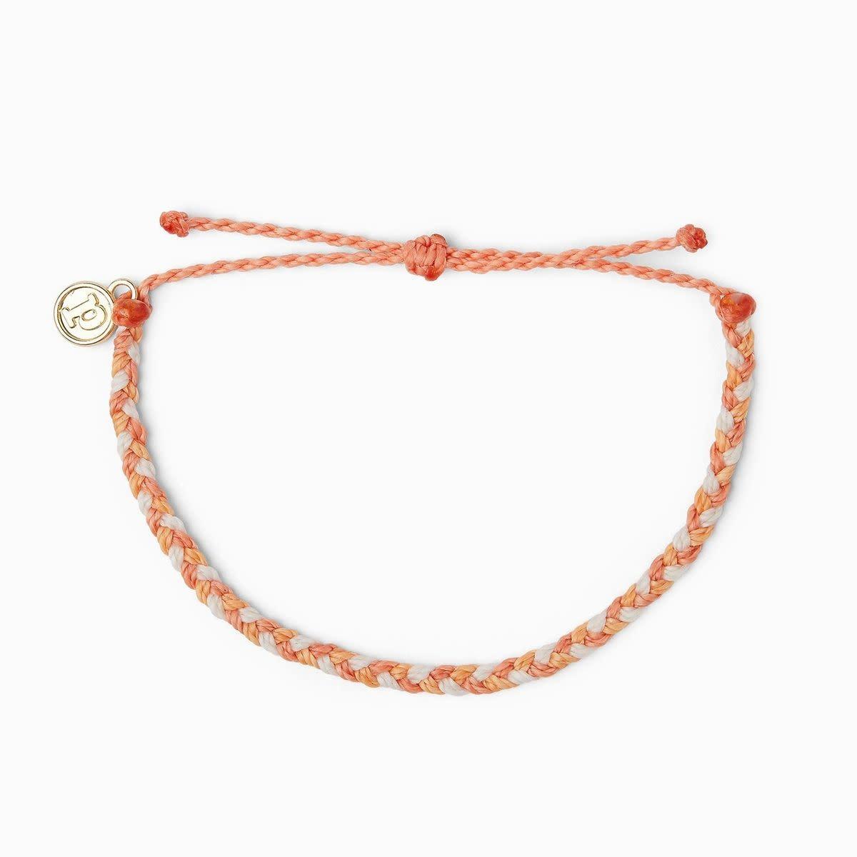 Warm Shoreline Braided Bracelet