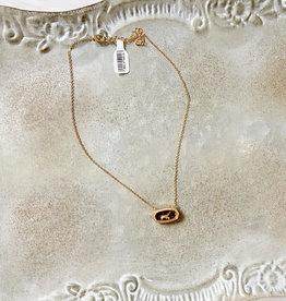 Gold Leopard Necklace