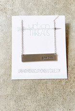 John 3:16 Bar Necklace