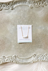 Marble Stone Dainty Necklace
