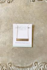 Philippians 4:13 Bar Necklace
