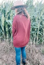 Merlot Sweater Tunic