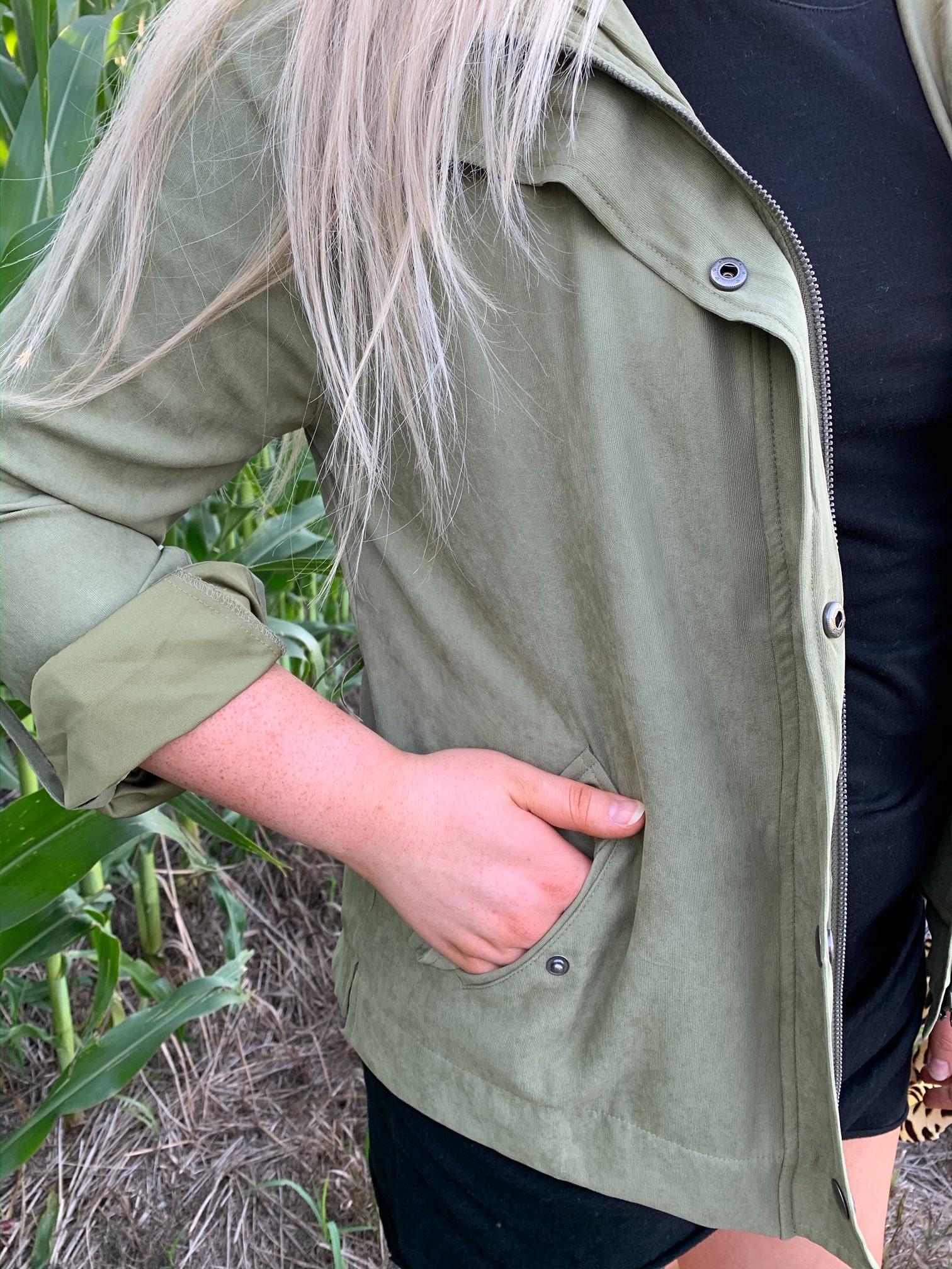 Sloan Jacket - Olive