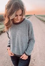 Piper Textured Sweatshirt