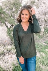 Evie Olive Sweater