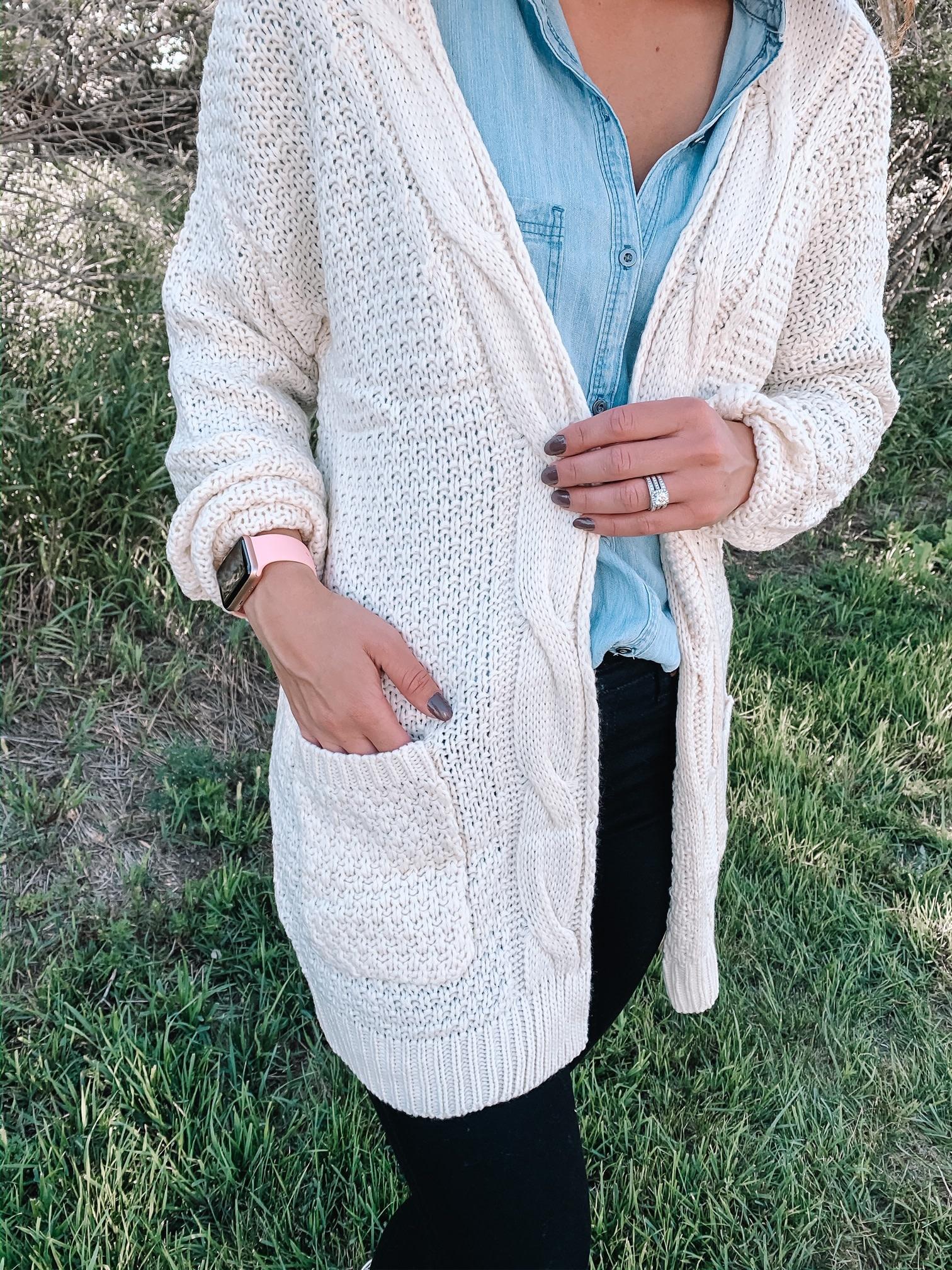 Sienna Ivory Cardigan
