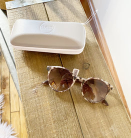 Round Retro Tortoise Sunglasses